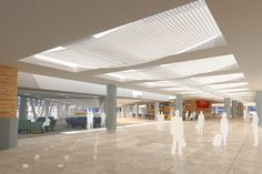 San Francisco Int'l Airport, Terminal 2 remodel [While at Gensler] - Giovanni Succi