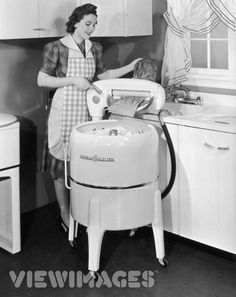 Wringer washing machines!