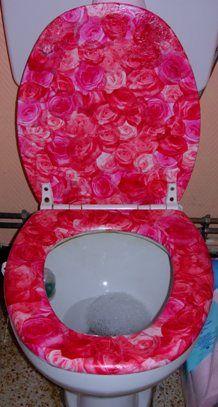Decopatch toilet seat!