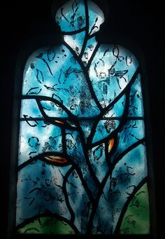 Marc Chagall - Between Surrealism & NeoPrimitivism - Stained Glass, Tudeley