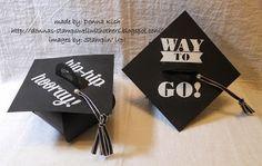 Curvy Keepsake Graduation Caps