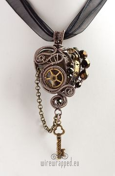Handmade Wire Wrapped Steampunk Jewellery