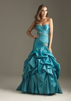 Admirable Sweetheart Neckline Beads Working Ruffle Strone Pin Floor Length Prom Dress