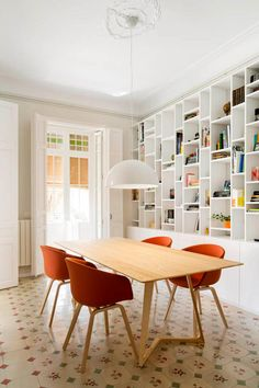 A marriage oferas - desire to inspire - desiretoinspire.net - Meritxell Ribé and The Room Studio - patterned tile + shelving
