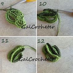 getImageлист4 (480x480, 51Kb) Freeform Crochet, Crochet Art, Thread Crochet, Crochet Motif, Irish Crochet, Free Crochet, Crochet Leaves, Knitted Flowers, Crochet Flower Patterns