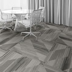 Interface Floor Design    | CT113: Pewter |    Find inspiration for your next interior design project with floors composed of modular carpet tiles from Interface