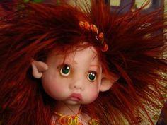 Fairy Pixie Elf Angel Polymer Clay OOAK Fantasy Art Doll by Lori Schroeder | eBay