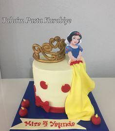 Pamuk prenses pasta whitesnow cake