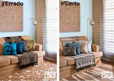 Certo e errado: aprenda a combinar estampas na decoração