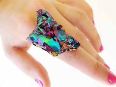 Rock candy ring straight from The Earth Kingdom! Lol jk! Still pretty!