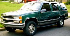 What I currently drive - 1995 Chevy Tahoe