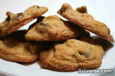 Cookies - one of the top 10 accidental discoveries - http://listverse.com/2008/02/24/top-10-accidental-discoveries/
