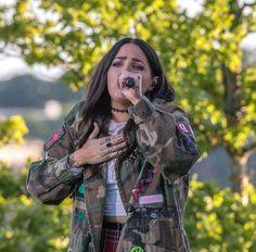 Allsång på Skansen 4 juli 2017. Miriam Bryant.