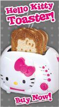 Hello Kitty Toaster.  I actually own this toaster!
