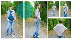 Cardigan Frollein - mojoanma - Freebie - Tutorial - DIY - Strickjacke - Nähen - Damen - Frauen - Oversized - #nähen #DIY