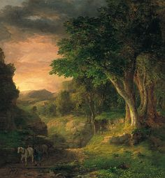 George Inness - In the Berkshires.