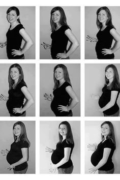 Every month take picture of yourself when pregnant to see how much you changed!!!!!!
