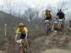 Mountain bike racing (shortened MTB or ATB racing) is the competitive cycle sport discipline of mountain biking held on off-road terrain Cycling Tights, Cycling Gloves, Cycling Helmet, Cycling Jerseys, Cycling Shorts, Mountain Bike Races, Bike Pants, Racing Events, Mtb