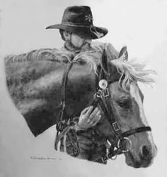 Horse Art from RitaTate. Pencil drawing