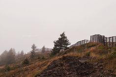 Urlaub im Lungau im Herbst: Wandern auf dem Speiereck bei Nebel