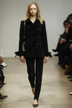 fw 05 / jil's last fall collection before she quit the second time. sorry, but raf's cut of pants will NEVER be this good.