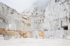 Frederik Vercruysse Captures The Unique Landscape At Marble Quarries | iGNANT.de