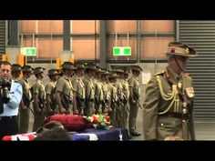 Fallen soldiers return home - YouTube