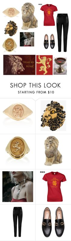 """""""Hear Me Roar"""" by giulia-ostara-re ❤ liked on Polyvore featuring Retrouvai, Gucci and Judith Leiber"""