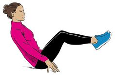 This exercise takes very little time to notice it's impact says personal trainer Nadya Fairweather (u-shape.co.uk)