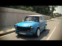 Trabant RS by Kokonja - Produced in East Germany, the Trabant was powered by a tiny two-cylinder, two-stroke 600cc engine developing a modest 26 HP (19 kW). It needed an agonizing 21 seconds until 62 mph (100 km/h) and was able to reach a top speed of only 70 mph (112 km/h). The stock engine was removed to make room for a 220 HP (162 kW) motor borrowed from the Fiat Coupe. The standard Trabant tipped the scales at just 600 kg (1,322 lbs).