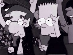 Bart and Milhouse are more punk rock than 5sos