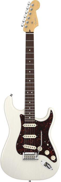 Fender American Deluxe Ash Stratocaster | White Blonde