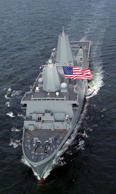 USS San Antonio (LPD17). Amphibious transport dock landing ship. My son was just assigned to this ship.