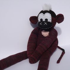 A personal favorite from my Etsy shop https://www.etsy.com/listing/267094432/handmade-sock-monkey-henry-the-original