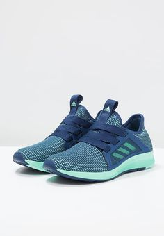 adidas Performance EDGE LUX - Obuwie do biegania treningowe - mystery blue/easy  green/