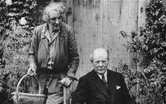 vita sackville-west | Vita Sackville-West, in the garden with her husband Harold Nicolson ...