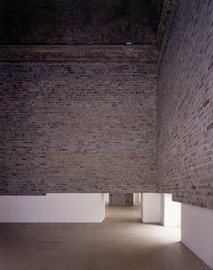 Abyss installation, T1 triennial of contemporary art in Turin, 2005 by  Doris Salcedo