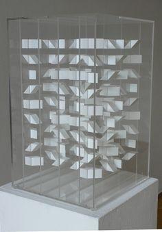 Art | アート | искусство | Arte | Kunst | Sculpture | 彫刻 | Skulptur | скульптура | Scultura | Escultura | Klaus Staudt Projection Installation, Abstract Geometric Art, Art And Architecture, Paper Art, Contemporary Art, Artwork, Tomoe, Composition, Layers