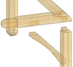 chinese timber frame architecture | Dovetail Floor Joist