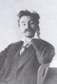 Russian composer Alexander Scriabin