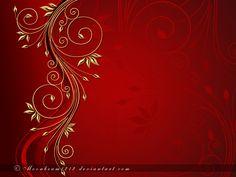 Designed in Photoshop Gilded Crimson Red Wallpaper, Pattern Wallpaper, Wallpaper Backgrounds, Wedding Invitation Background, Wedding Invitations, Red Background, Background Images, Lord Buddha Wallpapers, Photo Frame Design