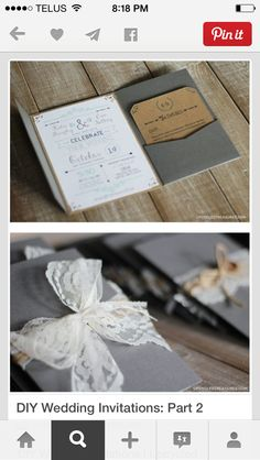 How To Make Your Own DIY Wedding Invitations for under 50