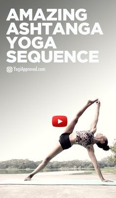 I'd like to break down this video and learn each pose individually, then eventually string them all together. Something to aspire to!
