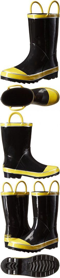 Northside Baby Classic Rain Boot, Black, 9 Medium US Toddler