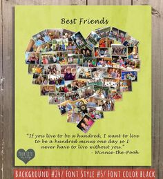 Gift for Best Friends Personalized Gift Photo by YourLifeMyDesign