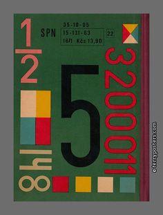 Czech math's books. 1963. Designed by Karel Vodák.