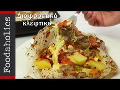 Διαφορετικό και εύκολο κλέφτικο | Foodaholics - YouTube Cheesesteak, Tacos, Mexican, Ethnic Recipes, Yum Yum, Youtube, Food, Essen, Meals