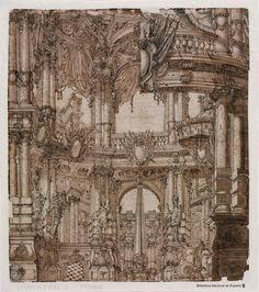 Anfiteatro - Francesco Galli Bibiena (1659-1739)