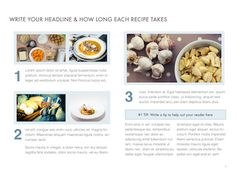Contemporary Cookbook Template For Ibooks Author Available At