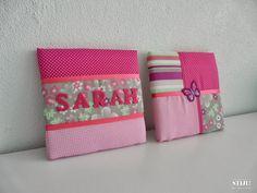 STIJL!: Stoffen schilderijtjes voor Sarah! http://stijlbijwilleke.blogspot.be/2013/10/stoffen-schilderijtjes-voor-sarah.html